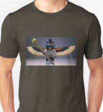 Flying Mummy Minifigure with Wings & Custom Magical Staff T-Shirt