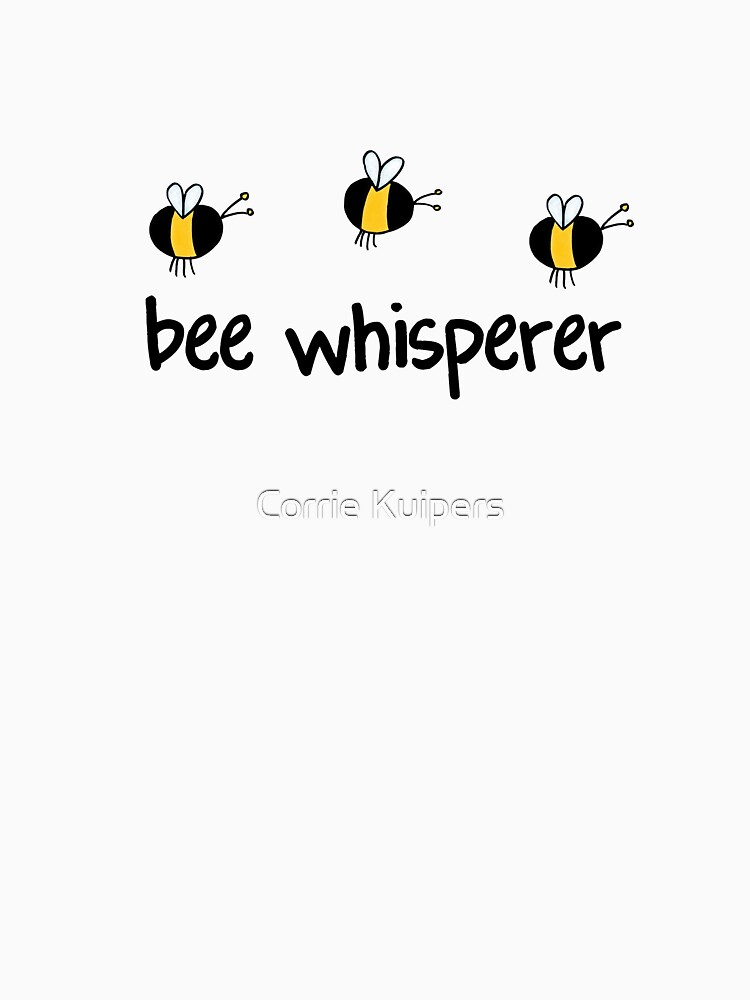 Bee whisperer by cfkaatje