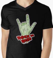 Rock'n'Rise SC Men's V-Neck T-Shirt