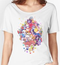 Undertale Color Women's Relaxed Fit T-Shirt