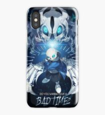 Bad time Sans iPhone Case/Skin
