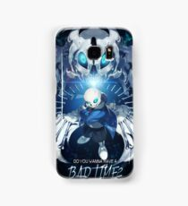 Bad time Sans Samsung Galaxy Case/Skin