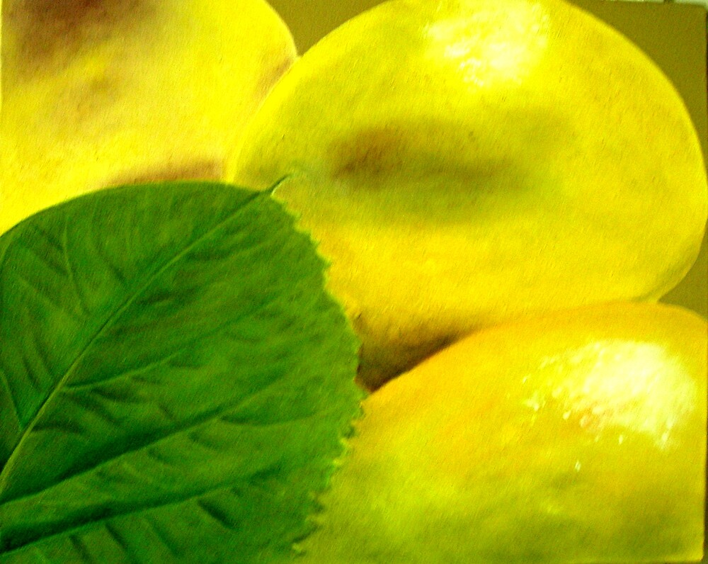 LEMONS AND LEAF by juliecat