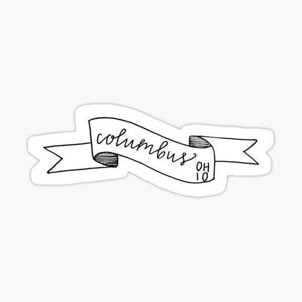 Columbus OH Sticker Sticker