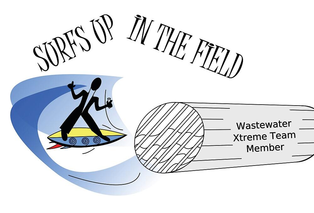 Wastewater Surfing by SarrMarkuzza
