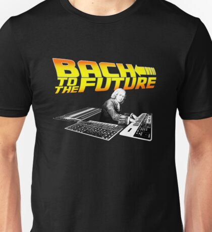 Bach To The Future. Unisex T-Shirt