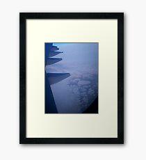 over the Bering Sea Framed Print