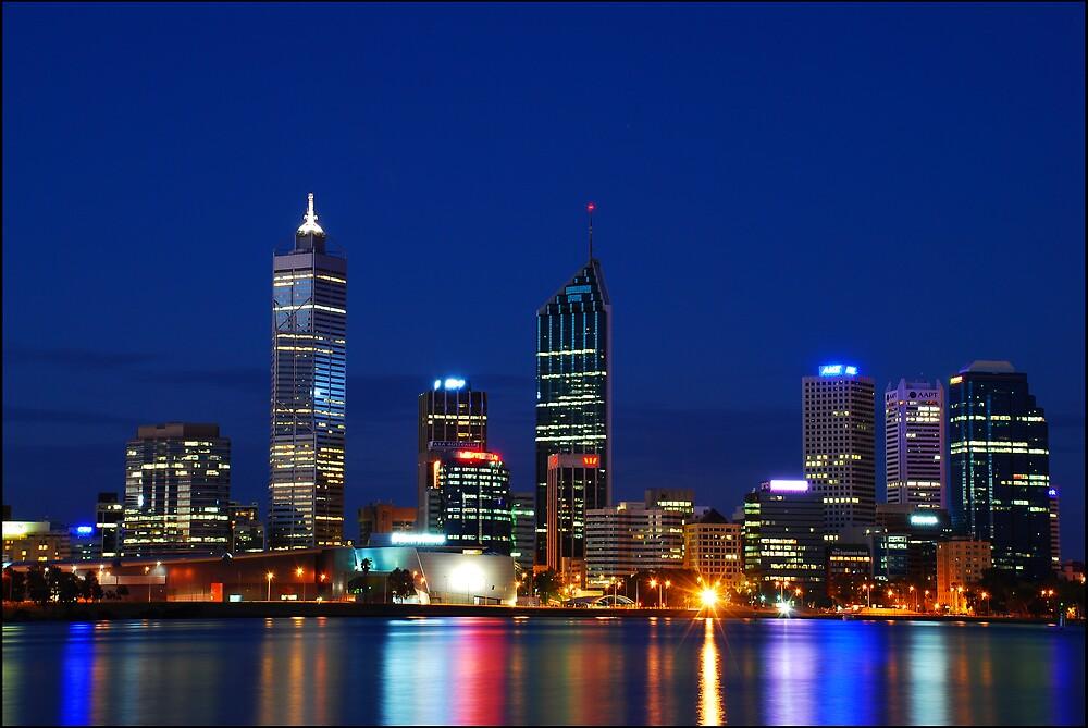 Perth, Western Australia by Damiend