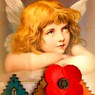 Christmas Angel with Poppy by ©The Creative  Minds