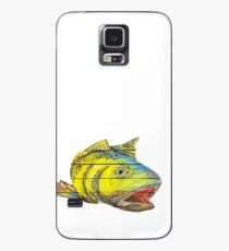 Funda/vinilo para Samsung Galaxy Red Fish Rainbow Trout Surrealist Fish