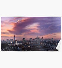 London Sunset Poster