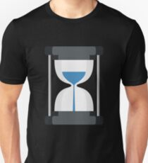 Hourglass , Vintage Timepiece Unisex T-Shirt