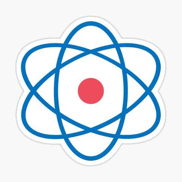Atom Symbol  Sticker