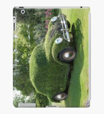 Driving on the hedge iPad Case/Skin