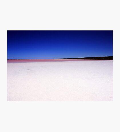 Port Gregory Pink Lake  Photographic Print