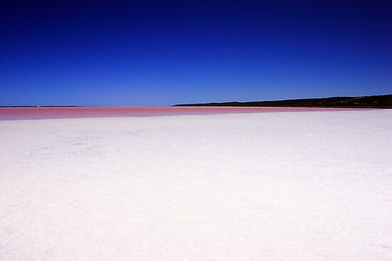 Port Gregory Pink Lake  by EOS20