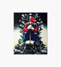 Super Mario's game of thrones Art Board
