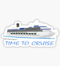 Cruise T-Shirts - Time To Cruise Sticker