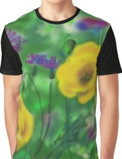 Red poppies Graphic T-Shirt