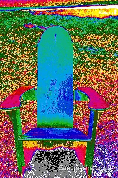 Adirondack Chair by Sandra Isherwood