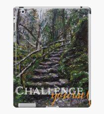 challenge yourself iPad Case/Skin