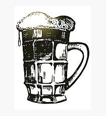 St Patricks Day beer Photographic Print