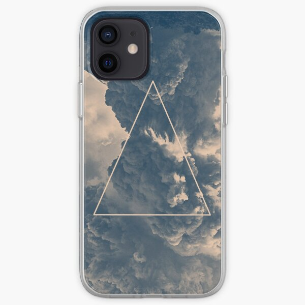 Inverted Cloud Triangle iPhone Soft Case