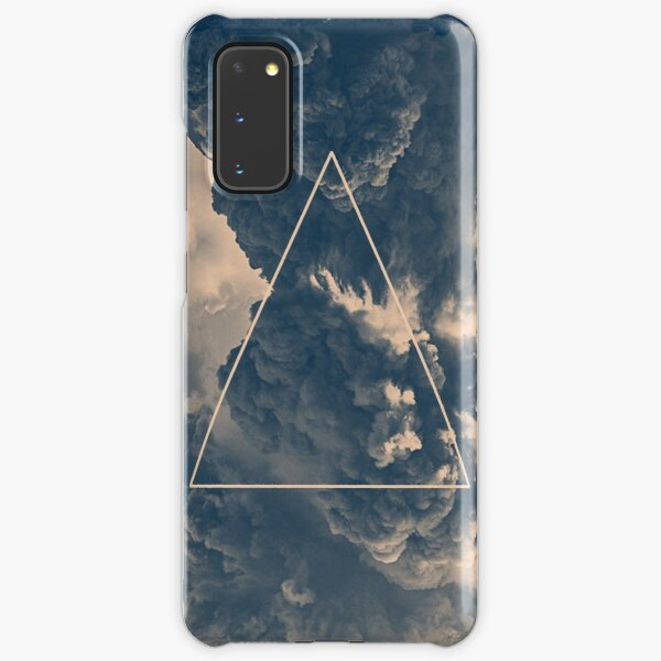 Inverted Cloud Triangle Samsung Galaxy Snap Case