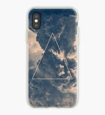 Vinilo o funda para iPhone Triángulo de nubes invertidas