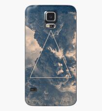 Funda/vinilo para Samsung Galaxy Triángulo de nubes invertidas