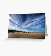 A Donegal Beach Greeting Card