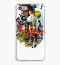 Portal Characters  iPhone Case/Skin