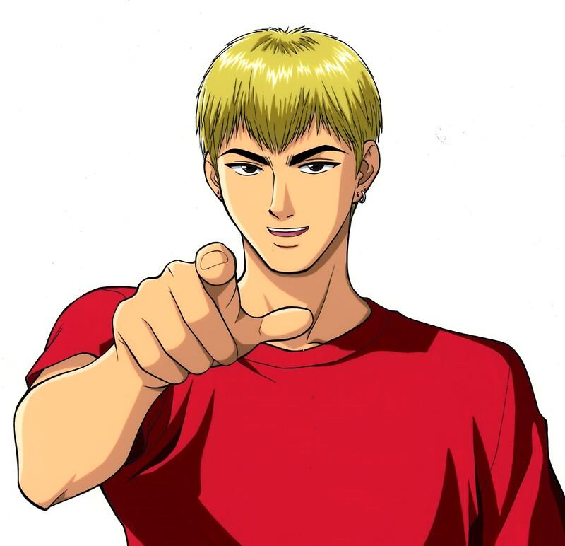Eikichi onizuka by sachadas