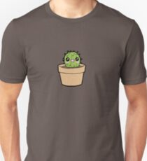 Happy Cactus Survives Alone! Unisex T-Shirt