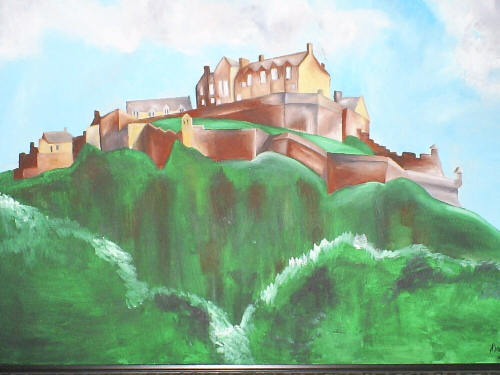 edinburgh castle by junbug