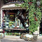 Antique shop in Taormina - Sicily - Italy by Arie Koene