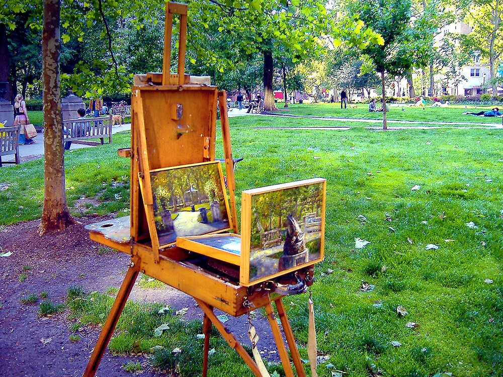 Rittenhouse Painter by trikc