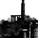 Calton Hill, Edinburgh by John Glynn ARPS