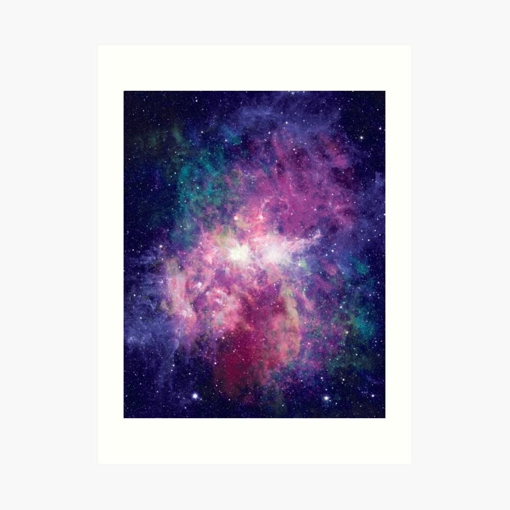 Kosmos Kunstdruck