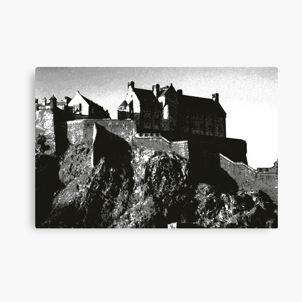 Edinburgh Castle, Scotland Canvas Print