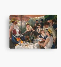 IT's Pennywise in Luncheon of the Boating Party Canvas Print