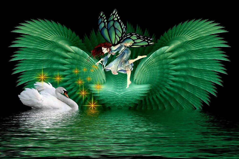 Swan Fairy by Thelma1