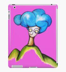 blue cloud iPad Case/Skin