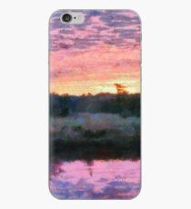 Monet inspirierte Sonnenaufgang iPhone-Hülle & Cover