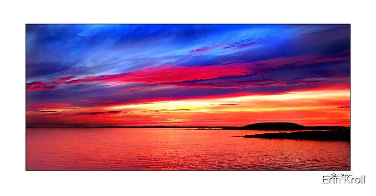 Bath Sunset by Erin Kroll