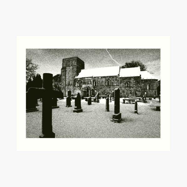 Dalmeny Kirk, Edinburgh Art Print