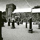 Dalmeny Kirk, Edinburgh by John Glynn ARPS