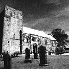 Damneny Kirk (church), near Edinburgh by John Glynn ARPS
