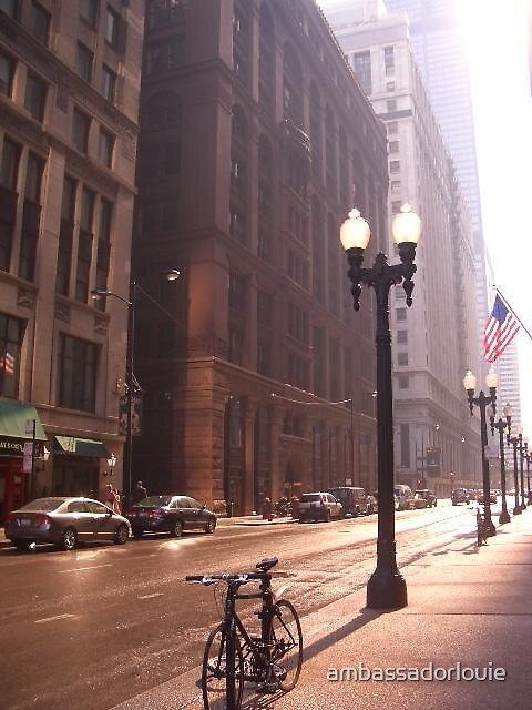 Adams St., Downtown Chicago by ambassadorlouie