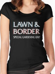 Lawn & Border Women's Fitted Scoop T-Shirt
